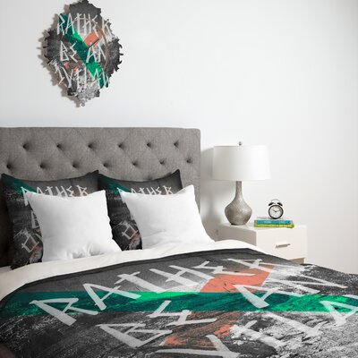 DENY Designs Wesley Bird Rather Be An Outlaw Duvet Cover Collection