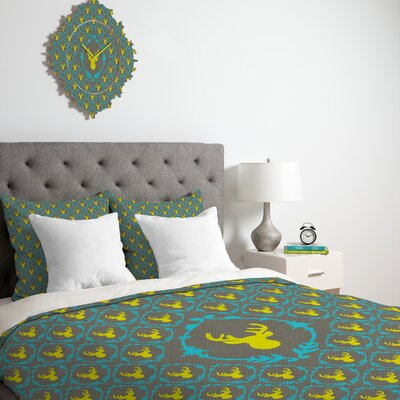 DENY Designs Bianca Green Oh Deer 3 Duvet Cover Collection