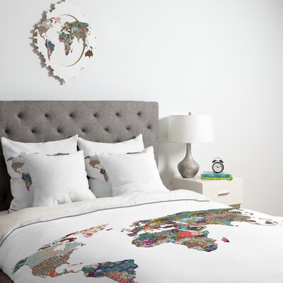 DENY Designs Bianca Green Louis Armstrong Told Us So Duvet Cover Collection