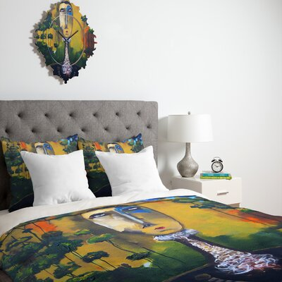 Robin Faye Gates forest for Trees Duvet Cover Collection
