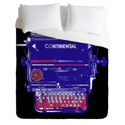 DENY Designs Romi Vega Continental Typewriter Duvet Cover Collection