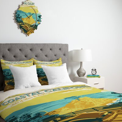 DENY Designs Anderson Design Group Coastal California Duvet Cover Collection