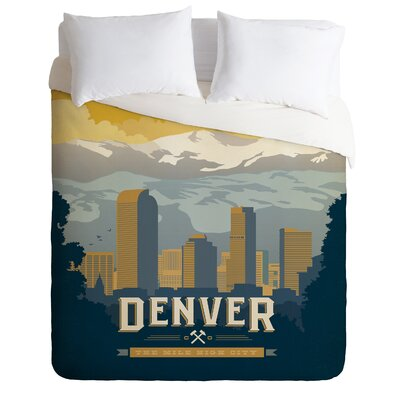 DENY Designs Anderson Design Group Denver 1 Duvet Cover Collection