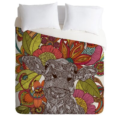 DENY Designs Valentina Ramos Arabella and The Flowers Duvet Cover Collection