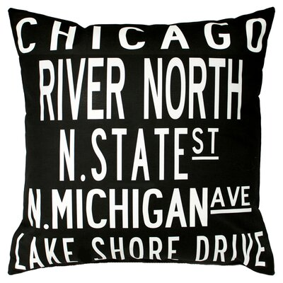 Uptown Artworks Chicago Pillow