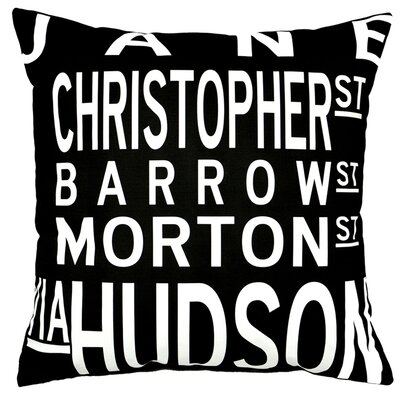 Uptown Artworks West Village Pillow
