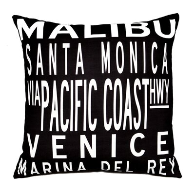 Uptown Artworks LA Coast Pillow