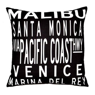 Uptown Artworks LA Coast Pillow