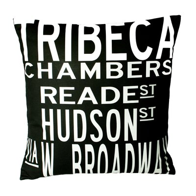 Uptown Artworks Tribeca Pillow