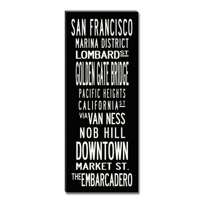 Uptown Artworks San Francisco Sign Art