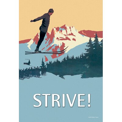Buyenlarge Strive Canvas Art