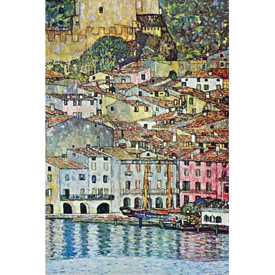 Buyenlarge Malcena at the Gardasee Canvas Art