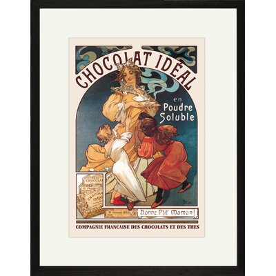 Buyenlarge Chocolat Ideal Framed and Matted Print