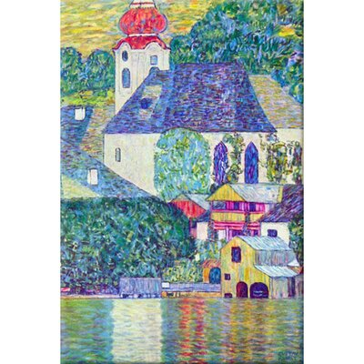 St. Wolfgang Church Painting Print on Canvas