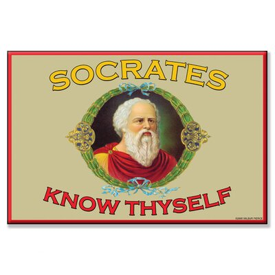 Buyenlarge Know Thyself Canvas Wall Art