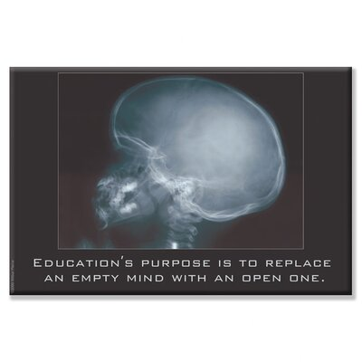 Buyenlarge Education for an Empty Mind Canvas Wall Art