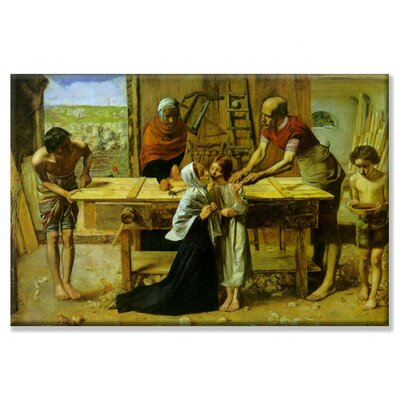 Buyenlarge Christ on The House of His Parents Canvas Wall Art