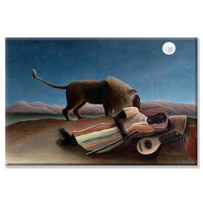 Buyenlarge Sleeping Gypsy Canvas Wall Art