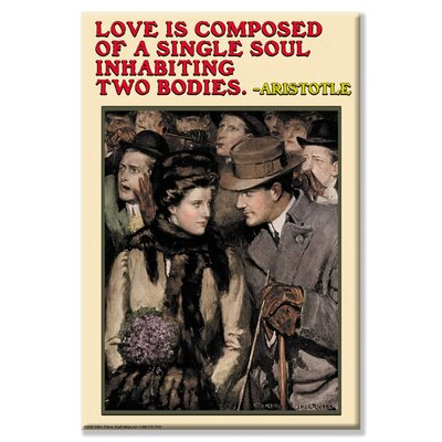 Buyenlarge Love Is Composed of Canvas Wall Art
