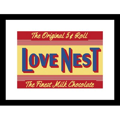 Buyenlarge Love Nest Framed and Matted Print