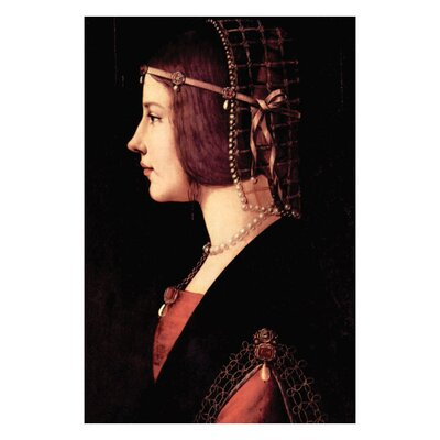 Buyenlarge Lady Beatrice d'Este Canvas Art