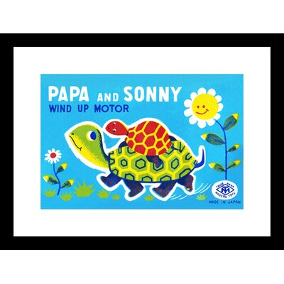 Papa and Sonny Framed Graphic Art