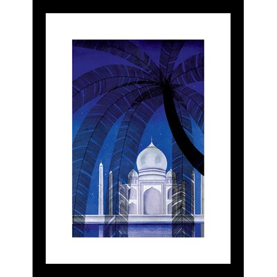 In Agra Framed Graphic Art