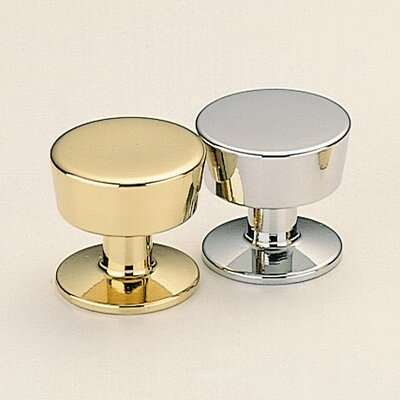 Omnia Brass Knobs and Pulls Round Knob