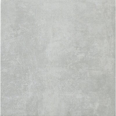 "Marca Corona Reactions 12"" x 12"" Glazed Porcelain Field Tile in Grey"