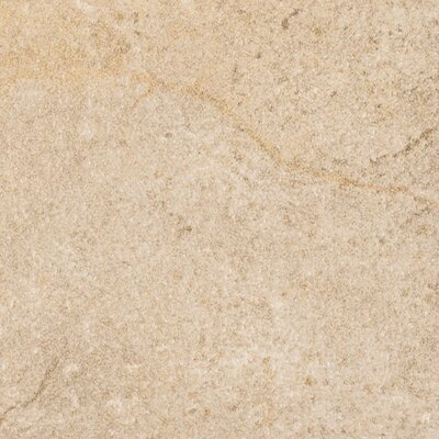 "Marca Corona Italian Stone 12"" x 12"" Glazed Porcelain Field Tile in Ocra"