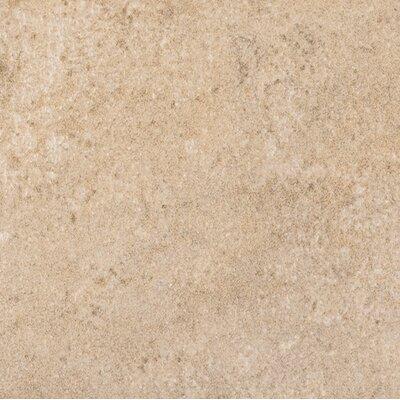 Marca Corona Italian Stone Glazed Porcelain Field Tile in Ocra