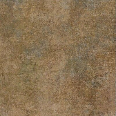 "Marca Corona Reactions 4"" x 4"" Porcelain Bullnose in Green"