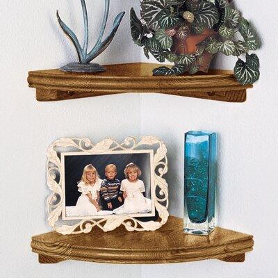 Woodland Home Decor Classic Corner Shelf Reviews Wayfair