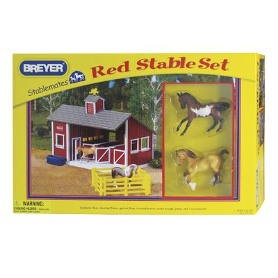 Breyer Horses Stablemates Stable Play Set