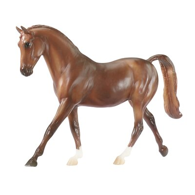 Breyer Horses Classics Dapple Chestnut Thoroughbred Horse Toy