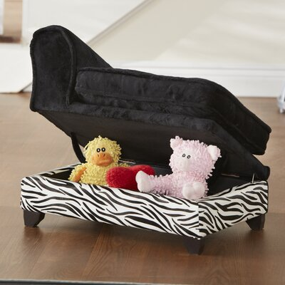 Enchanted Home Pet Ultra Plush Storage Dog Sofa