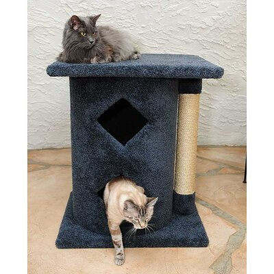 New Cat Condos Sisal Rope Two Story Cat Cave