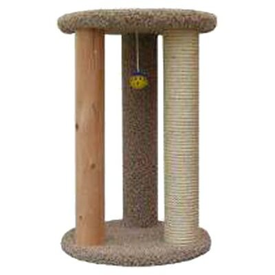 <strong>New Cat Condos</strong> Round Multi Cat Scratcher