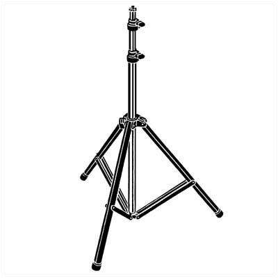 Testrite Pro Series 3-Section Light Stand