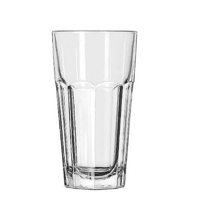 Libbey Gibraltar Drinking Glasses Tall Cooler, 12-Ounce