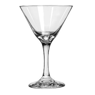 Libbey Embassy Martini Glasses Martini, 9 1/4-Ounce