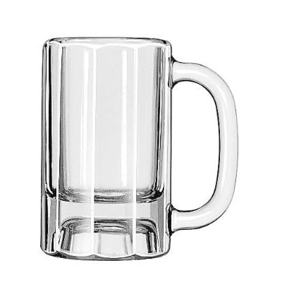 Libbey Mugs and Tankards 10 oz. Paneled Mug (Set of 12)