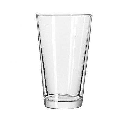 Libbey Restaurant Basics 16 oz. Non-Dura Tuff Mix Glass (Set of 24)