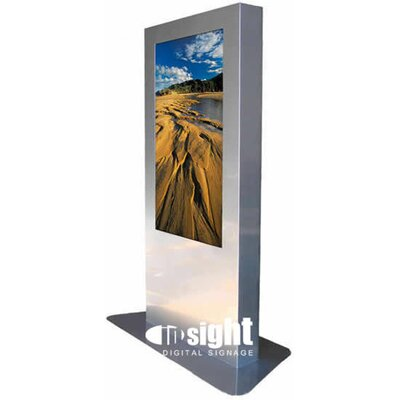 "Insight Digital Signage Infinity Indoor/Outdoor Digital Signage Enclosure for 42-46"" LCD"