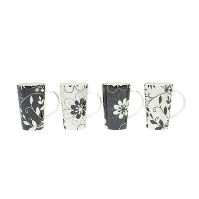 Maxwell & Williams Daisy May 15.5 oz. Mug (Set of 4)