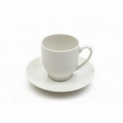 Maxwell & Williams White Basics 2 oz. Cup and Saucer