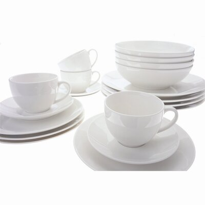 White Basics Coupe Dinnerware Set