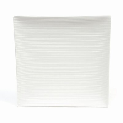"Maxwell & Williams White Basics Cirque 13"" Square Platter"
