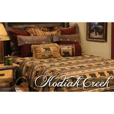 Wooded River Kodiak Creek Basic 4 Piece Bedding Set