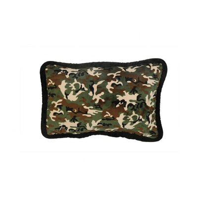 Wooded River Green Camo Sham